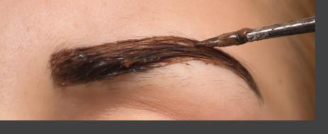teinture de SOURCILS nyon-institut beaute nyon-sakura beaute nyon-eye lashes tint nyon